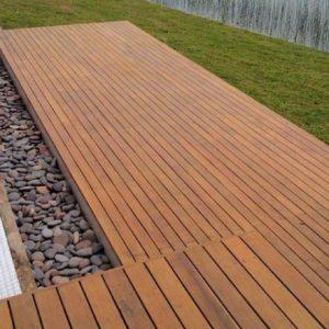 Deck PVC y madera
