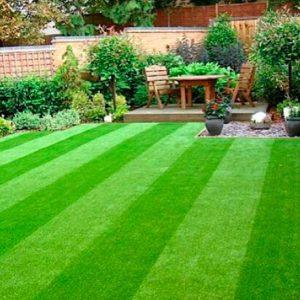 Césped sintético para jardines