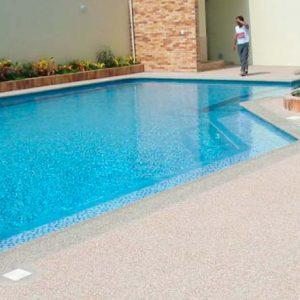 Piso de granito para piscina