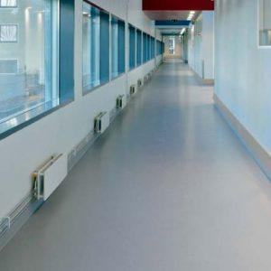 Pisos para hospitales Antiestético