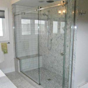 Puertas de vidrio para baños